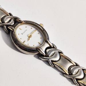 Bulova 2 tone watch